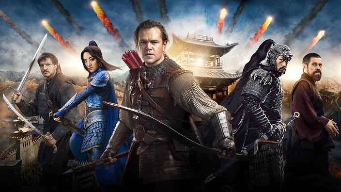 Matt Damon,  The Great Wall