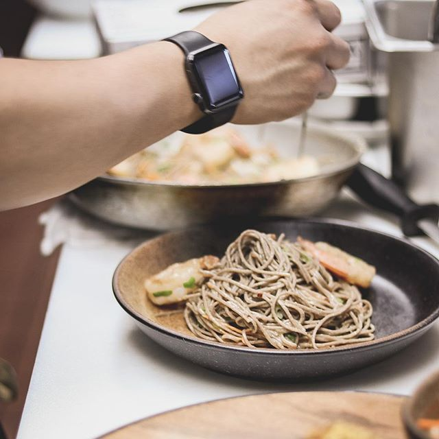 Jumbo lemon-garlic shrimp! Ready to order 🍤🍝 #SuyoNYC #TheBronx #suyogastrofusion #cocktailbar #nyc #Restaurant #Changingthebronx #NewMenu