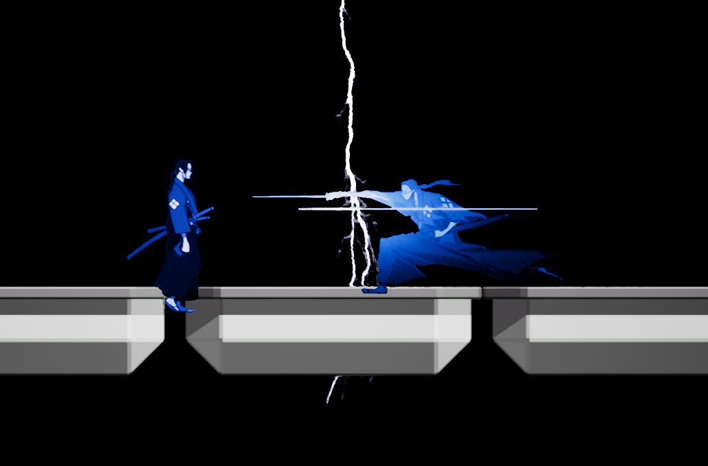2D Fighter - This is a 2D game played by swiping the screen of a phone. It was fine, the main problem with it was the limited controls required locking a time window for player input, this slowed the game significantly. Even with just a 2 second time delay between the moves, the game felt like a crawl.