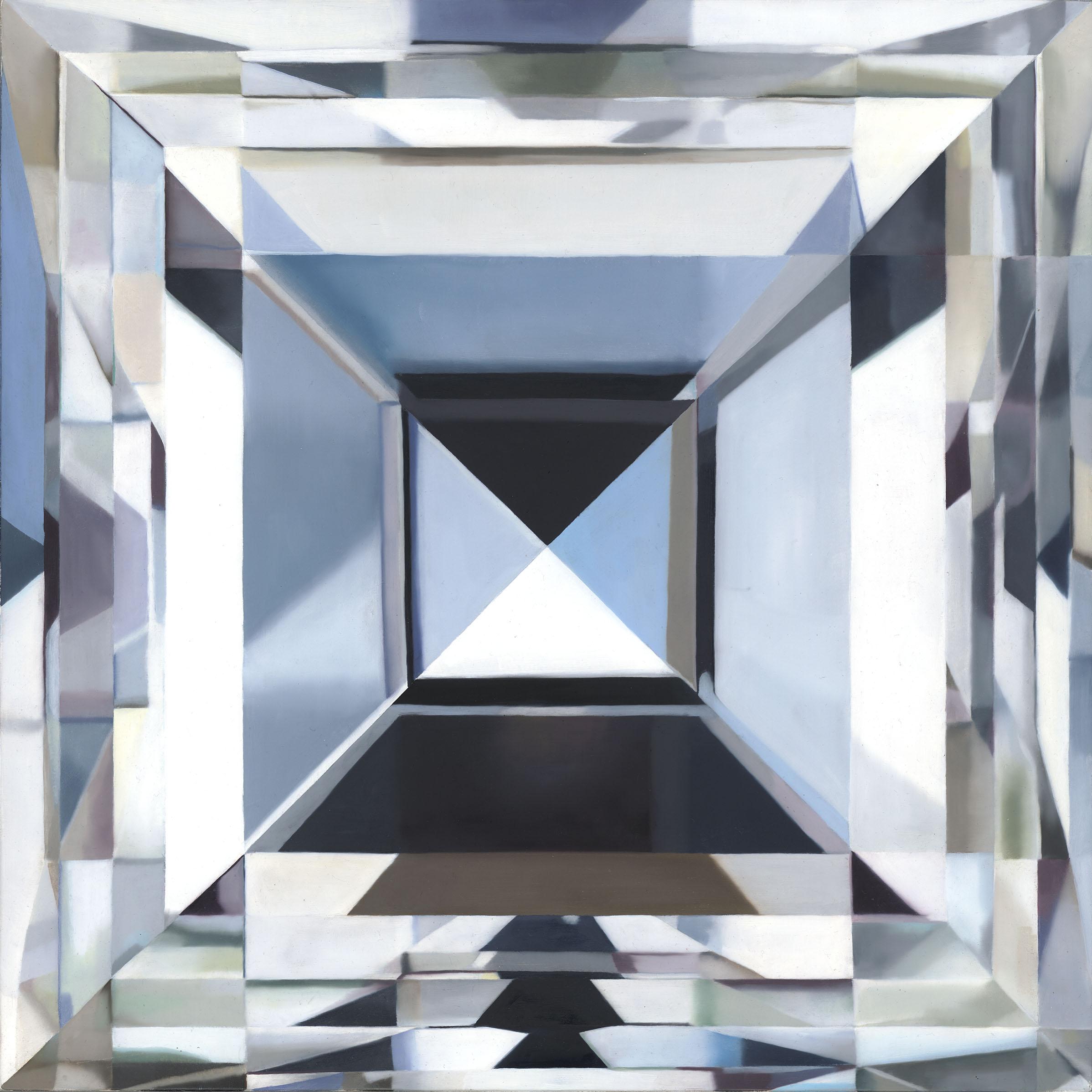 - NORAcarre cut diamondoil on panel16 x 16 in2018
