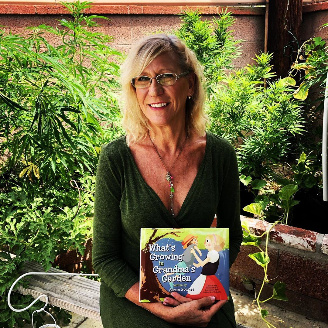 """What's Growing in Grandma's Garden""  By Susan Soares"