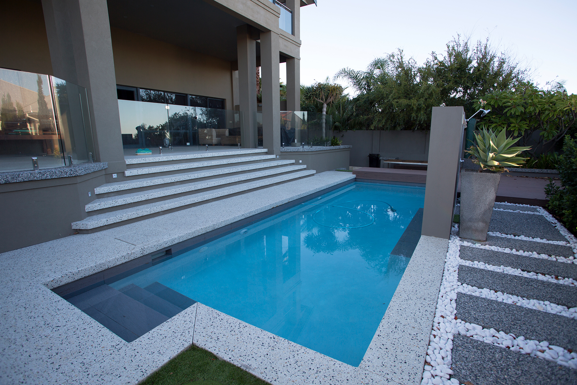 Sorrento Stone. Perth Concrete Specialists. Honed Concrete