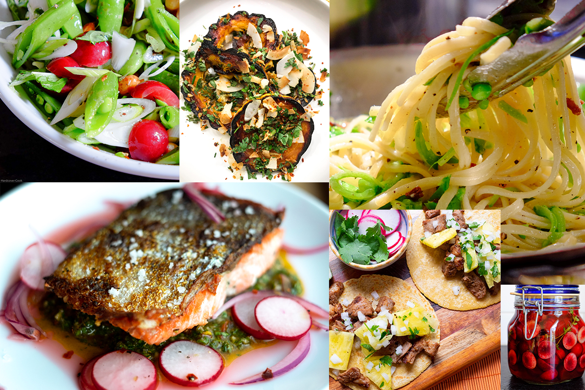 A few of my favorite recipes from    Six Seasons    and    Dining In   , September cookbook club picks