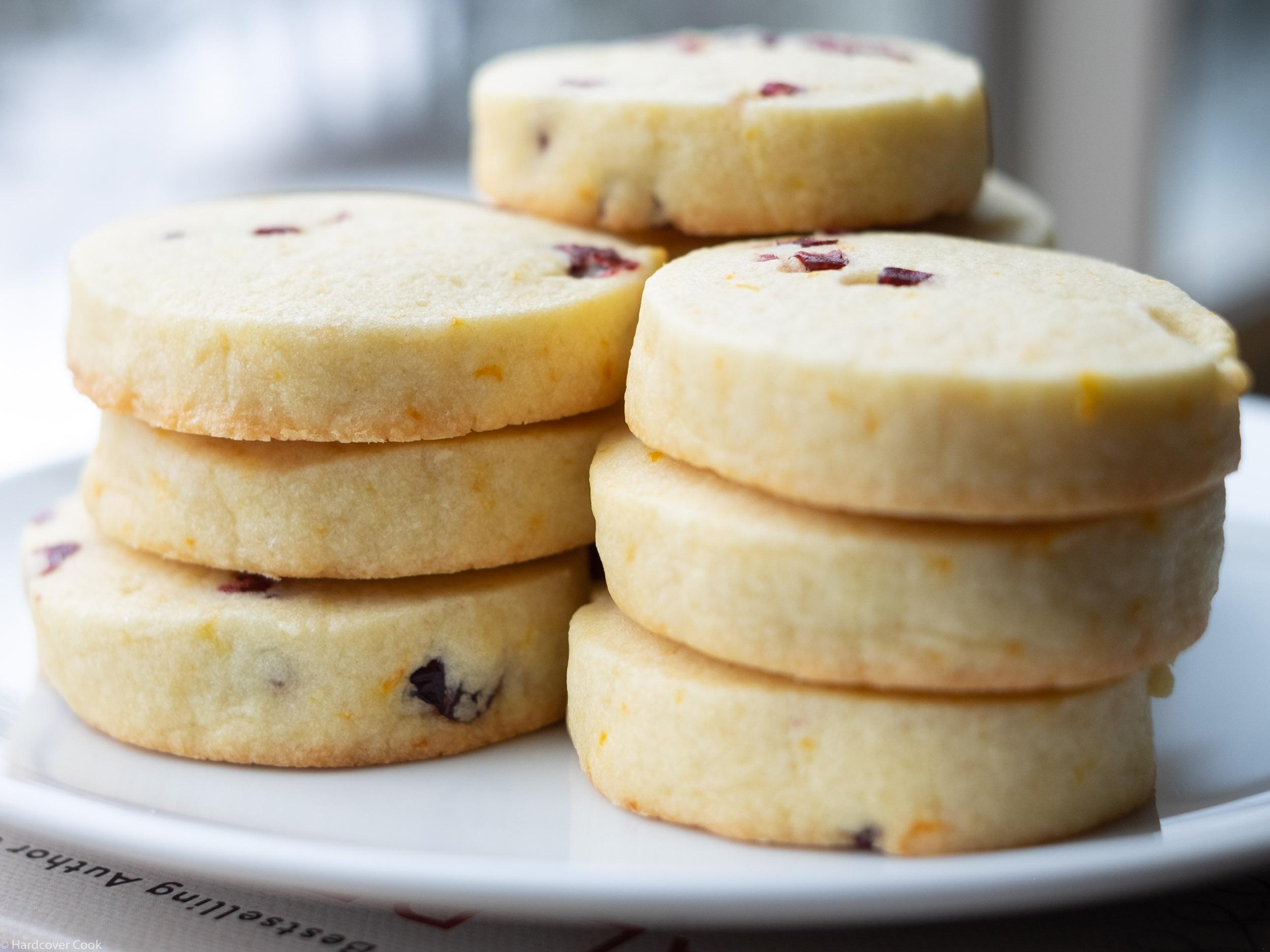 Cran-Orange Shortbread Cookies, p. 108