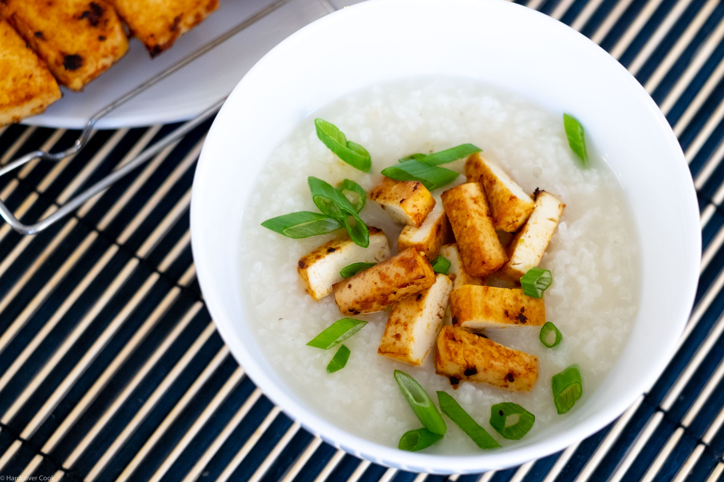 Super-Simple Overnight Rice Porridge with Sriracha Tofu from Vietnamese Food Any Day