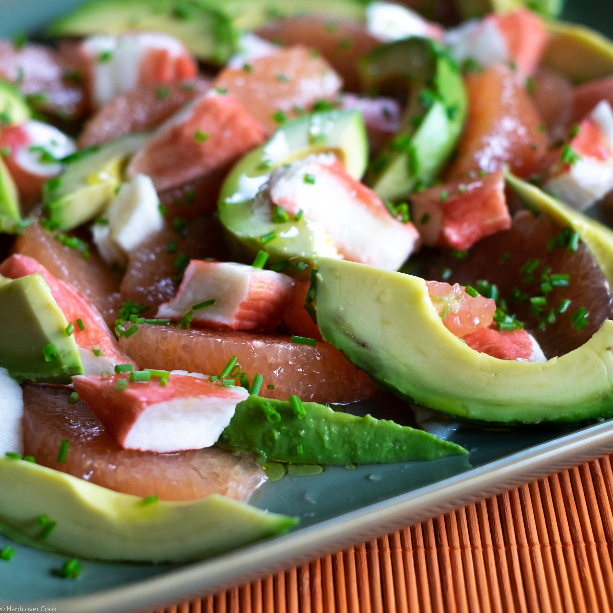 Krab, Avocado & Grapefruit Salad from Just Cook It!