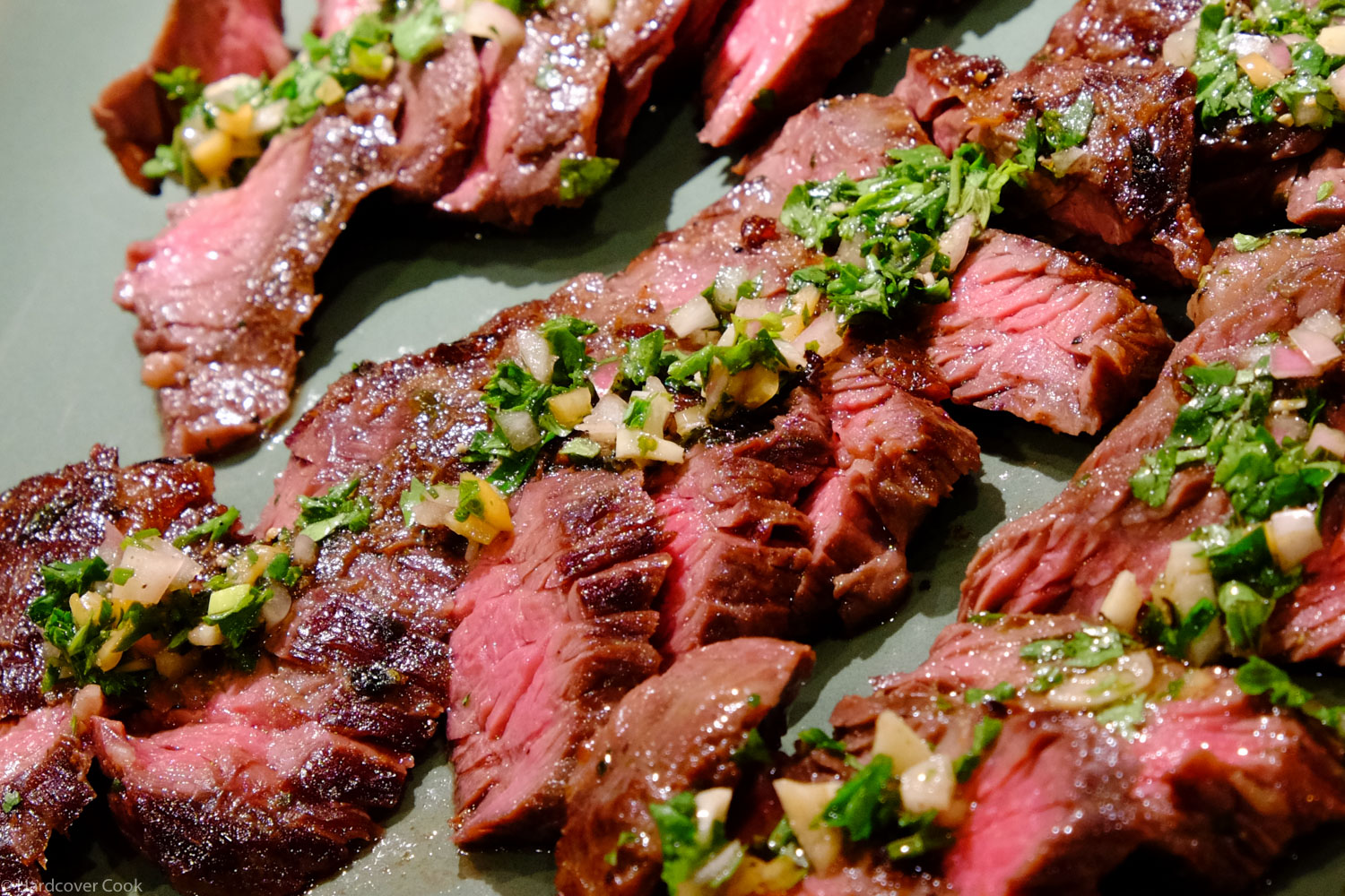 Carne Asada with Chimichurri from Sous Vide at Home