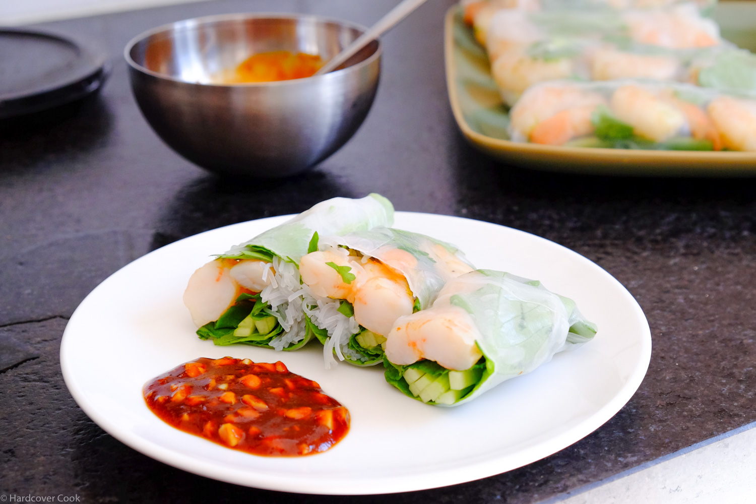 Vietnamese Summer Shrimp Rolls from Sous Vide at Home