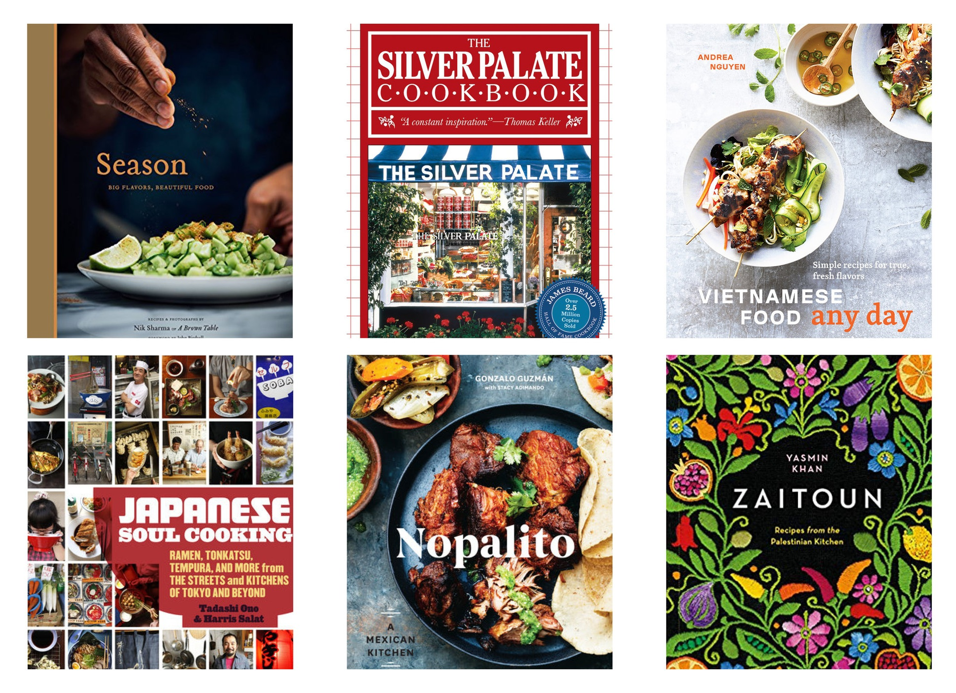 International flavors are featured for May cookbook clubs.
