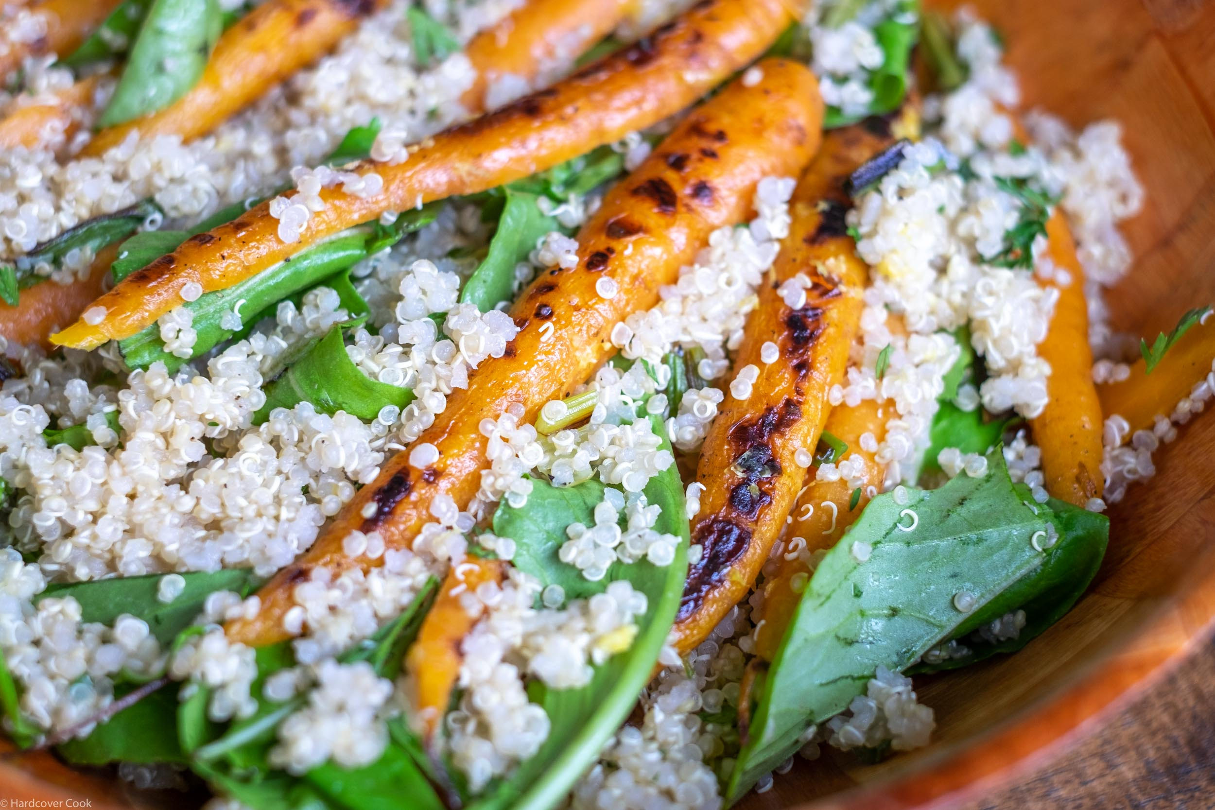 Quinoa & Carrot Salad with Meyer Lemon Vinaigrette from Thank You For Smoking