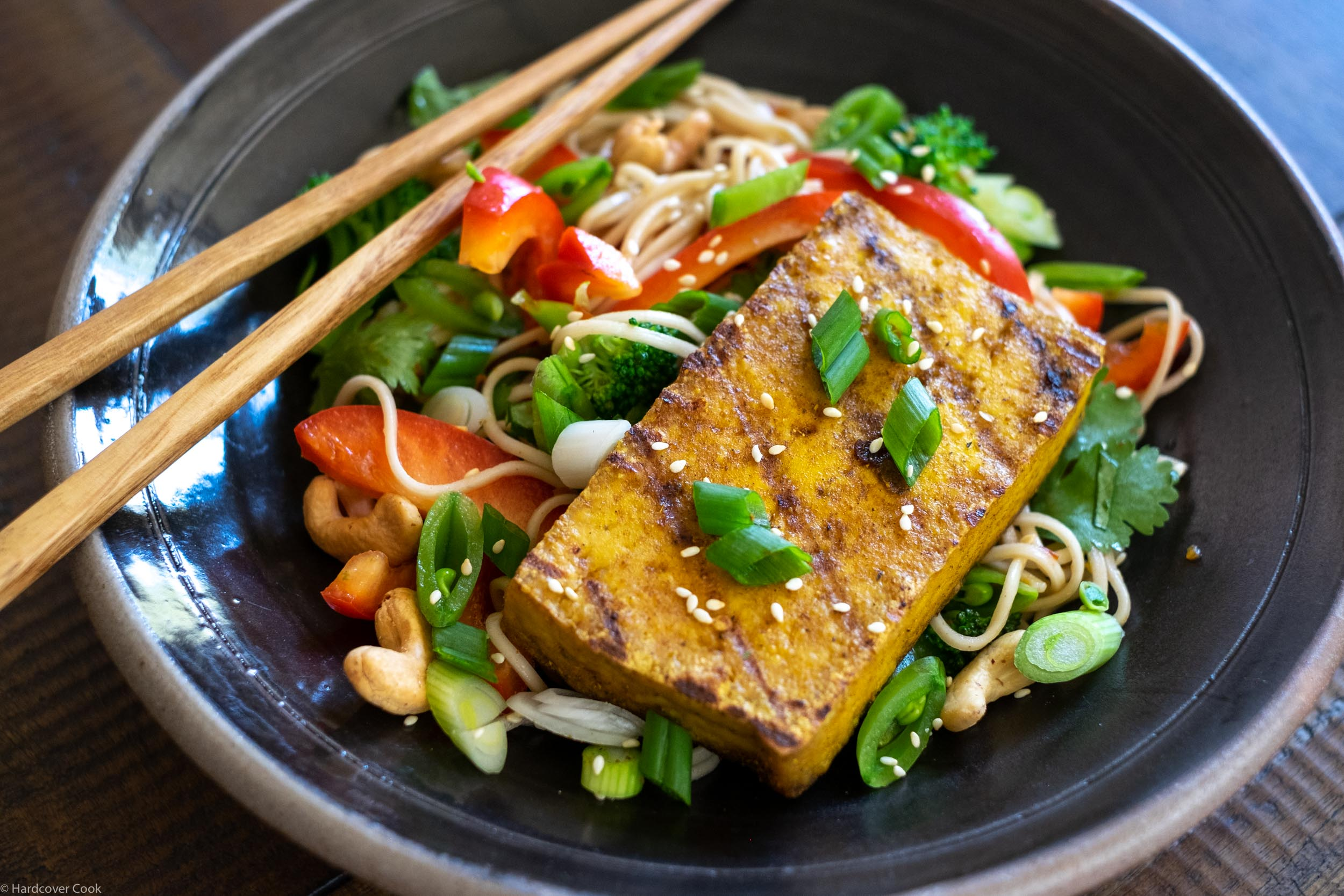 Grilled Tofu Noodle Salad from Thank You for Smoking