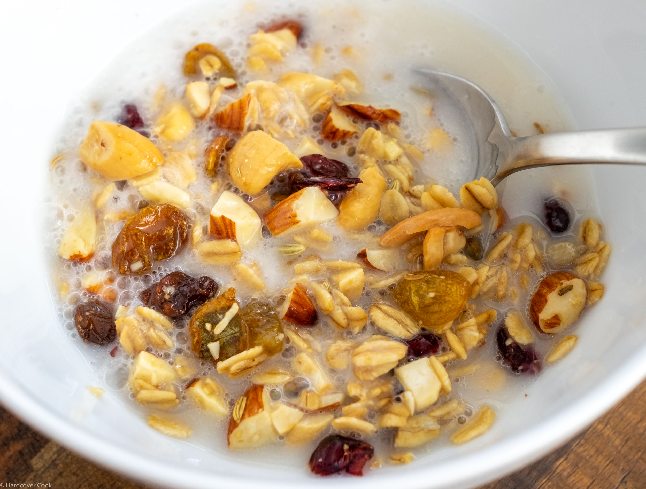 Fennel and Ginger-Spiced Sweet Granola from Season