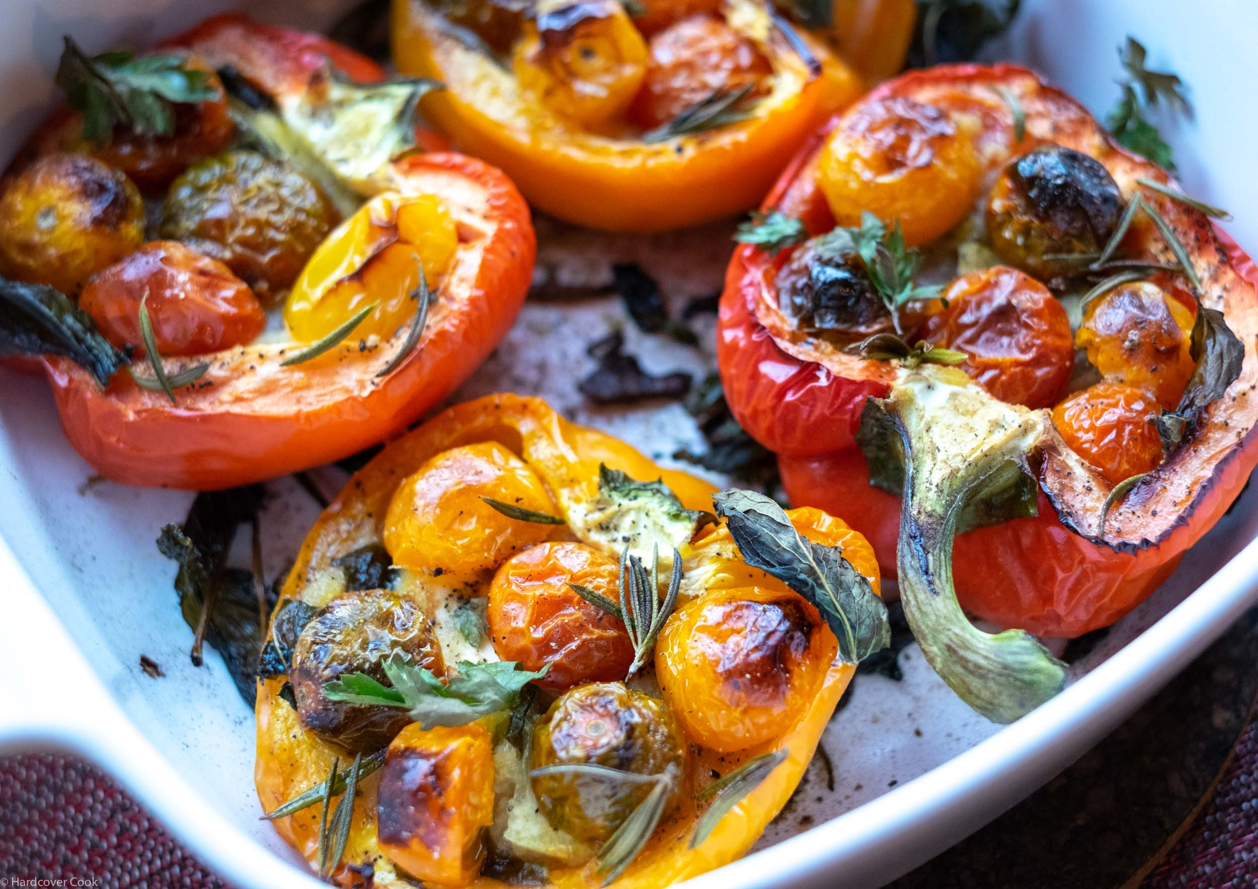 Oven-Charred Tomato-Stuffed Peppers from Everyday Dorie