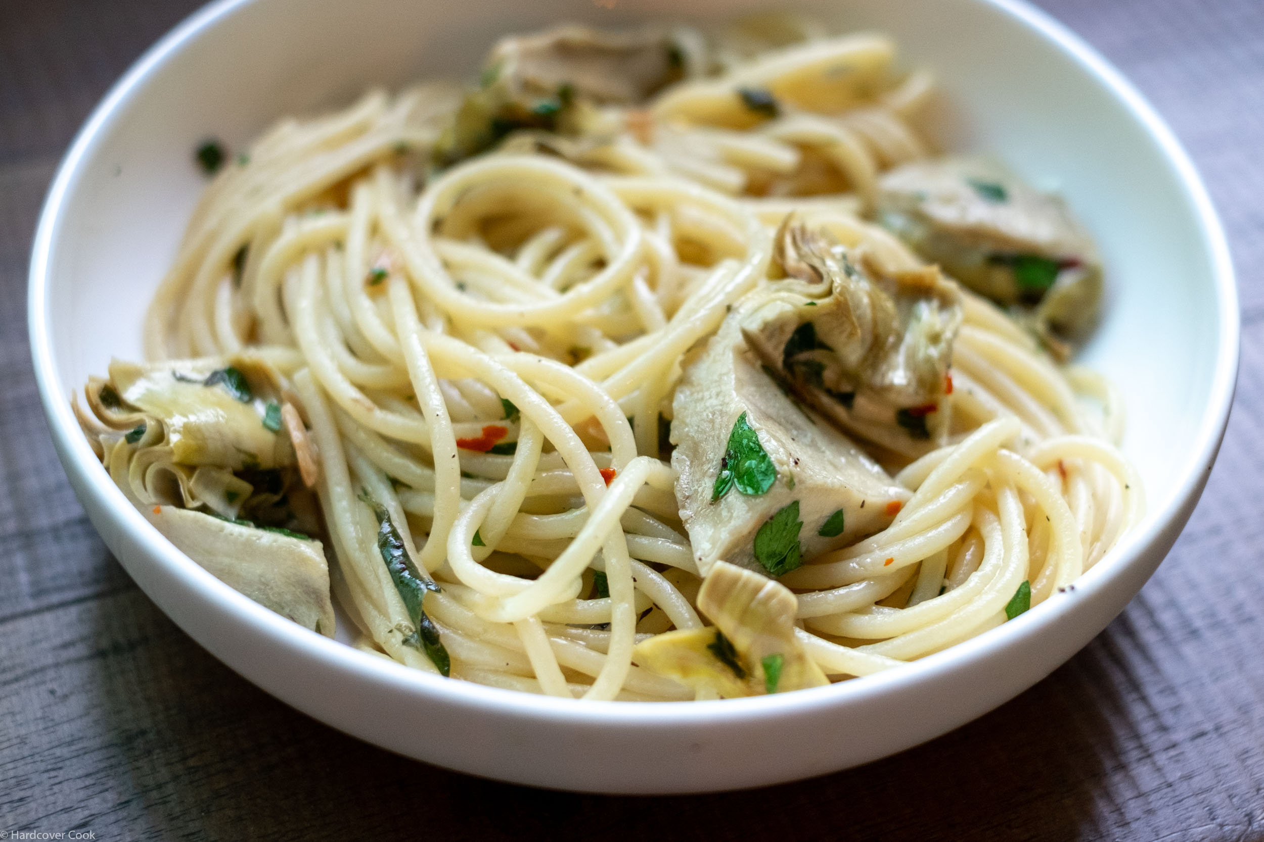 spaghetti-with-quick-braised-artichoke-hearts-from-where-cooking-begins.jpg