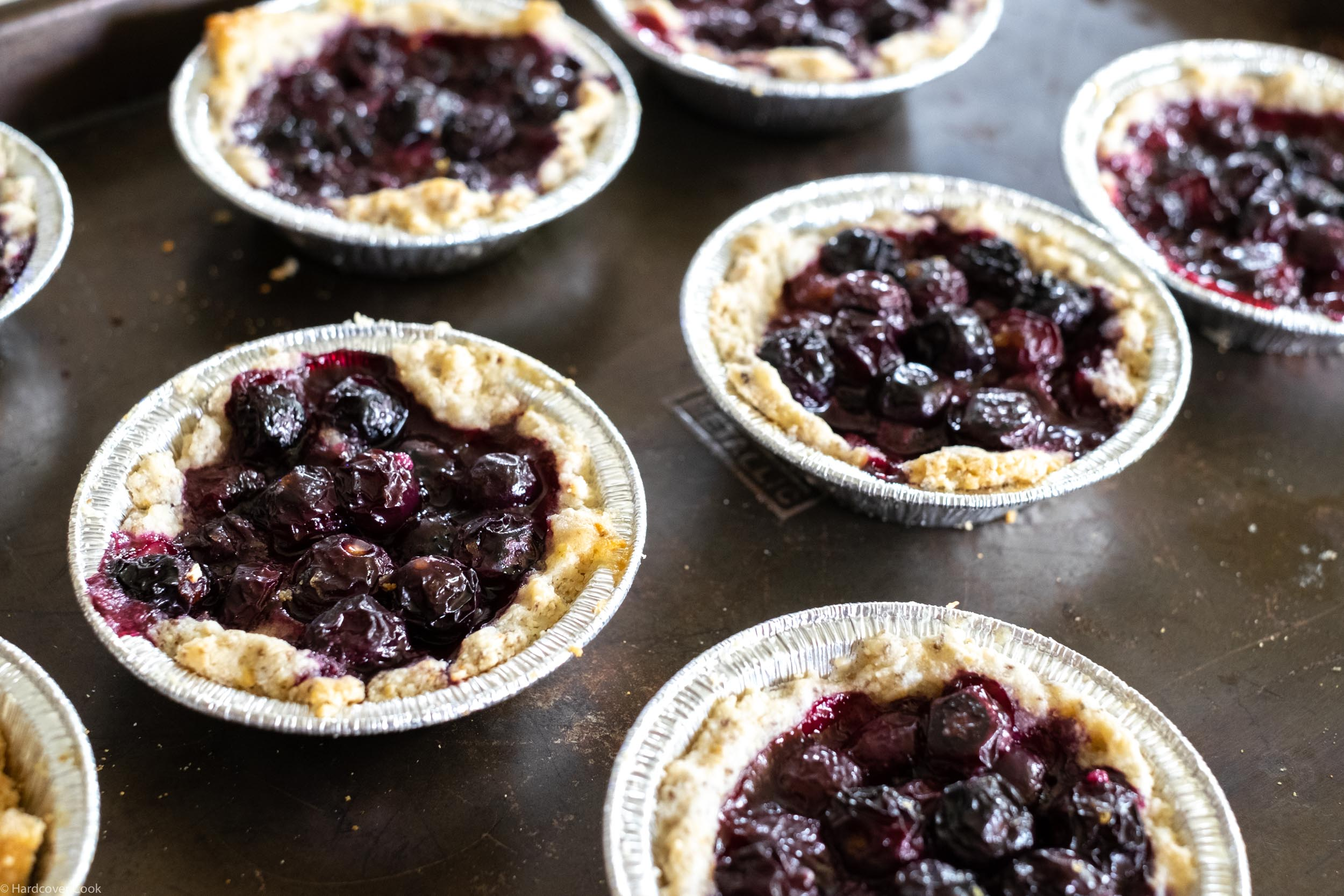 Blueberry Hand Pies with Coconut Oil Pie Dough from Alternative Baker