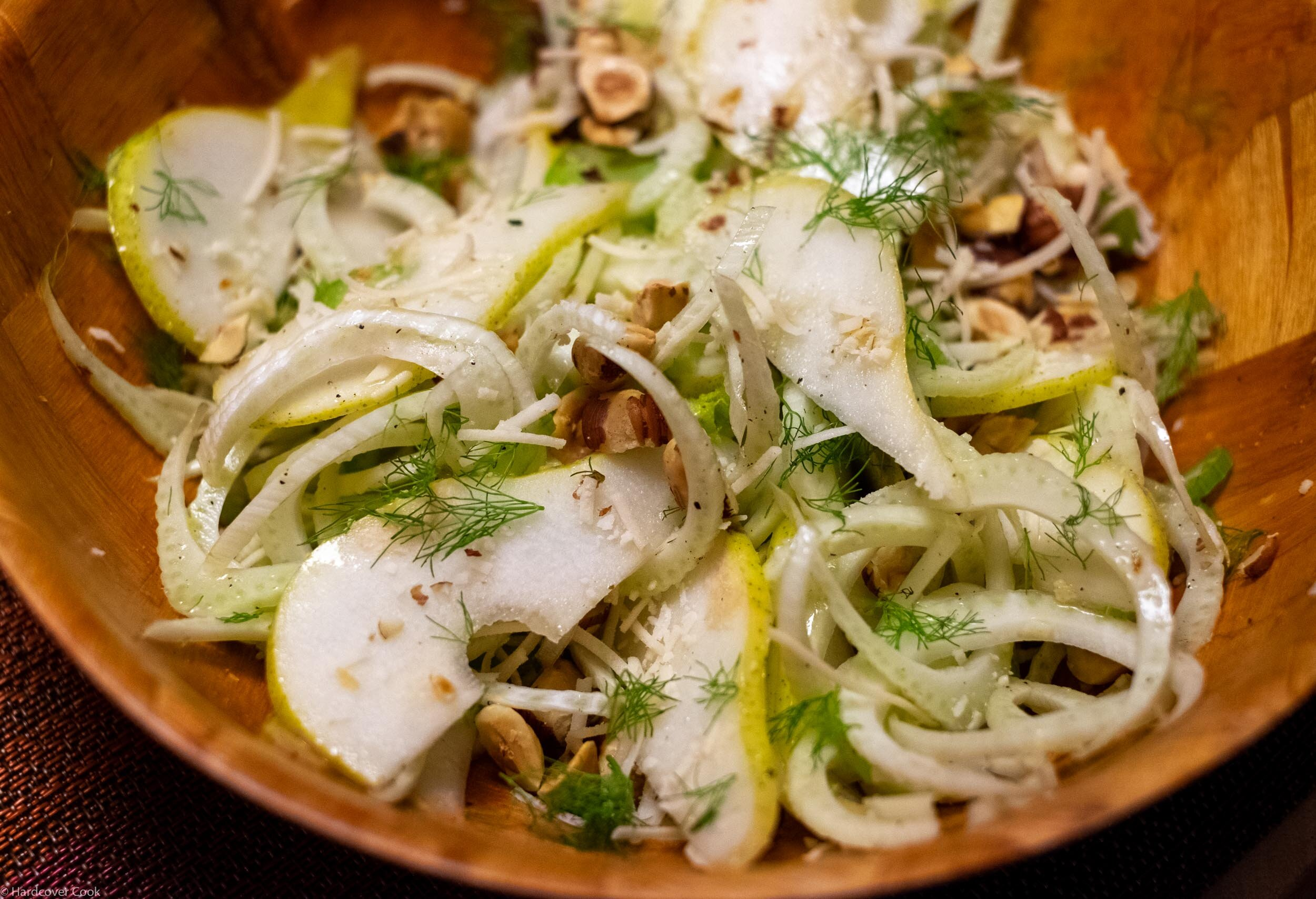 Fennel, Pear, Celery, and Hazelnut Salad from Smitten Kitchen Every Day