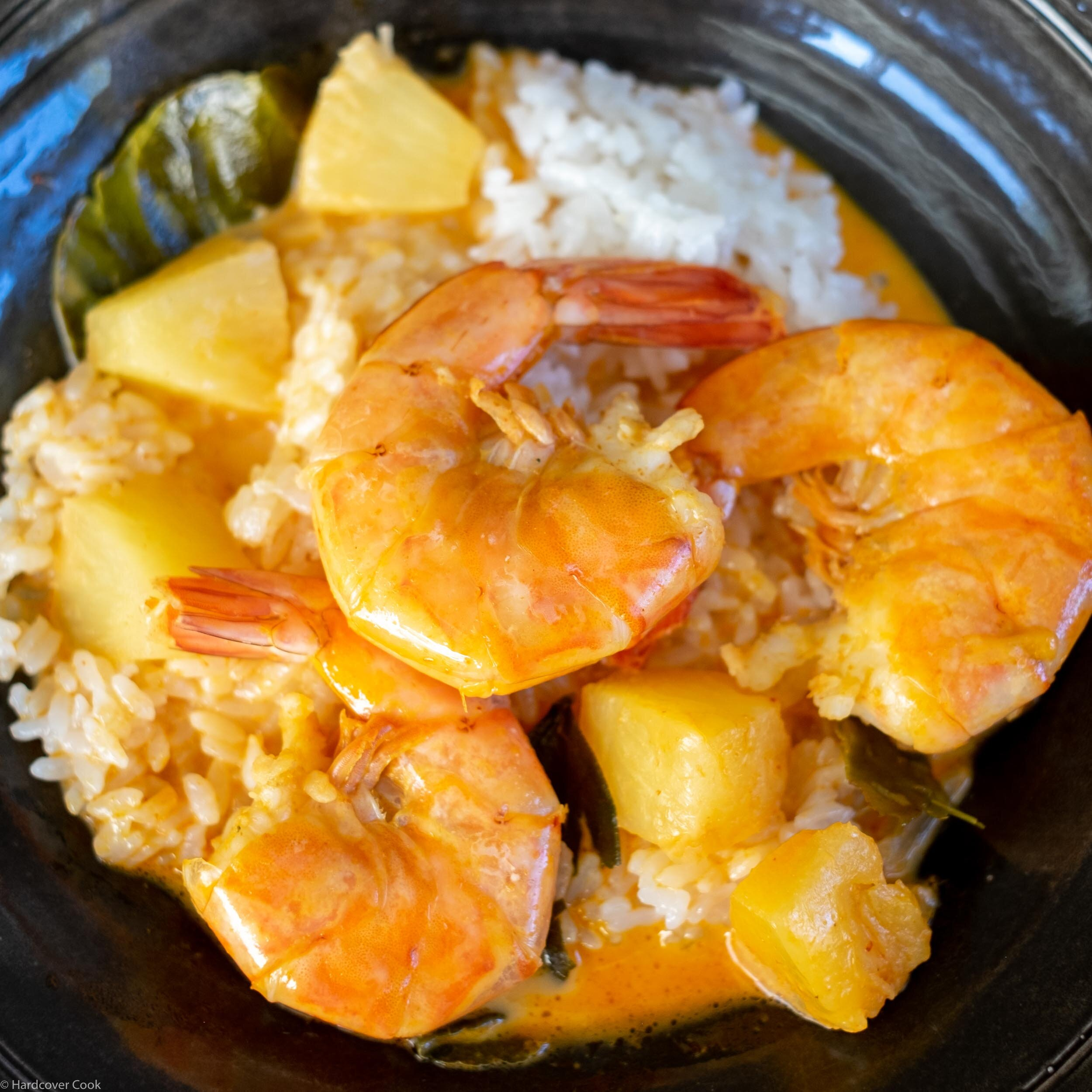Red Curry Shrimp with Pineapple from Quick & Easy Thai