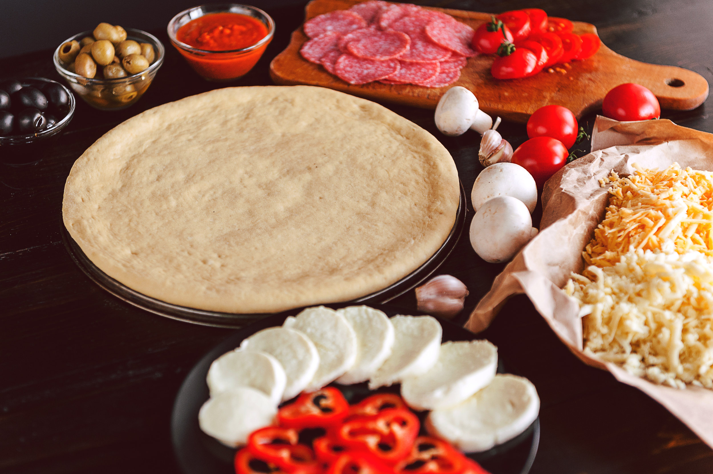 Multi Grain Base - We prepare multi -grain base pizzas, as opposed to maida base that most pizzas are made with. It's pointless worrying about the extra kilos and the rigorous exercise routines. Just indulge!