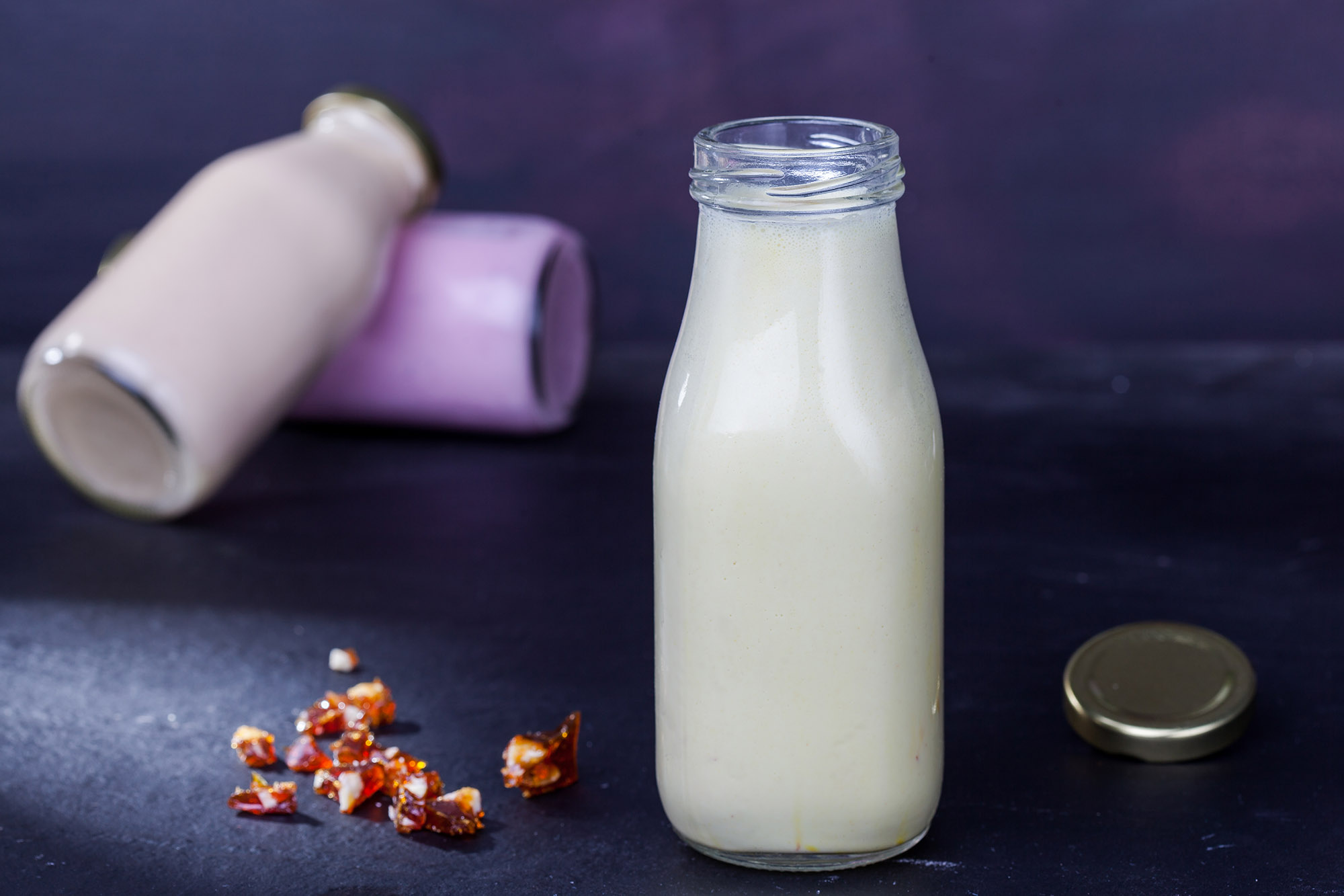 PEANUT-BANANA SMOOTHIE - Smooth peanut-butter and fresh bananas are blended with ice-cream, yogurt, and milk to create a hearty, flavoursome smoothie that's absolutely delicious!