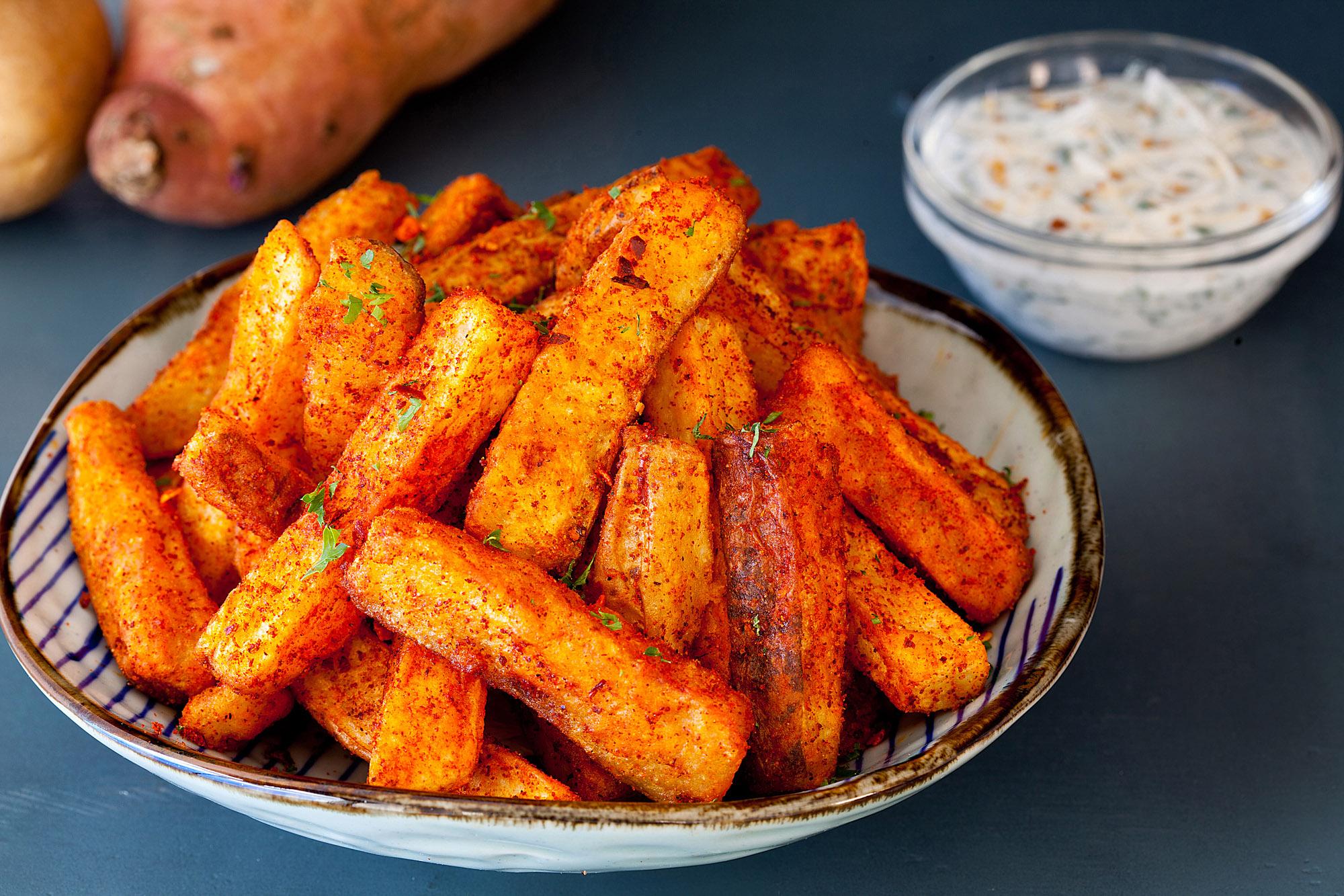 Sweet Potato Wickets