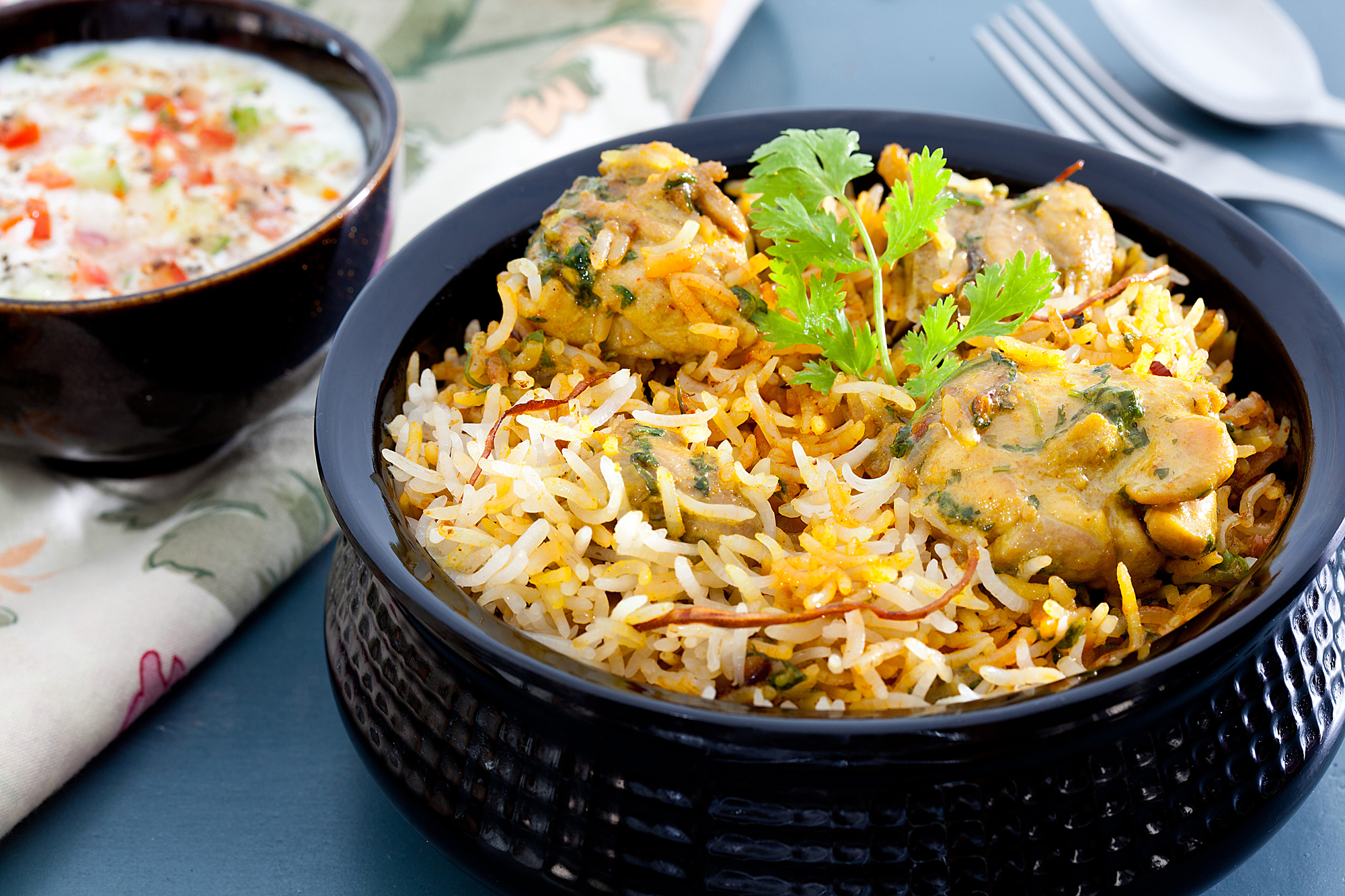 Kothmir Chicken Biriyani