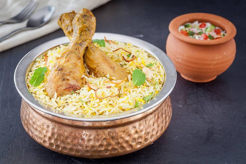 Feroz Shah Kotla Chicken Biriyani
