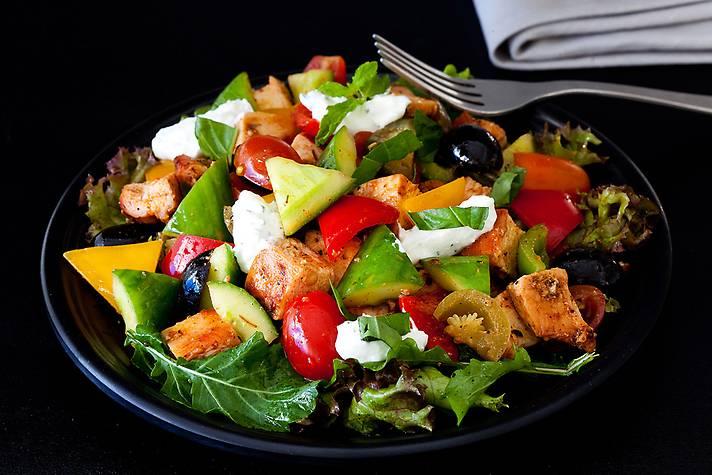 Keto Peri Peri Chicken Salad