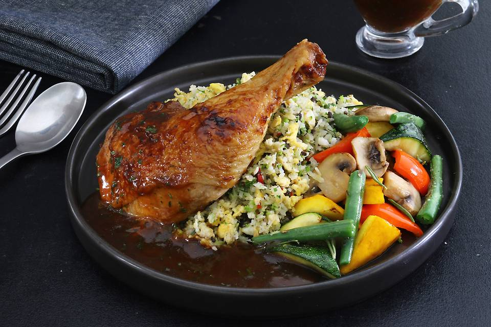 - French Double-Cooked Chicken