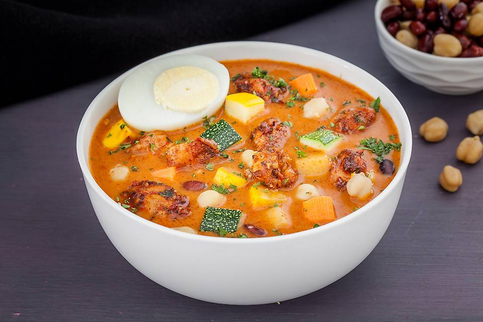 - Moroccan Spiced Chicken Bean Soup
