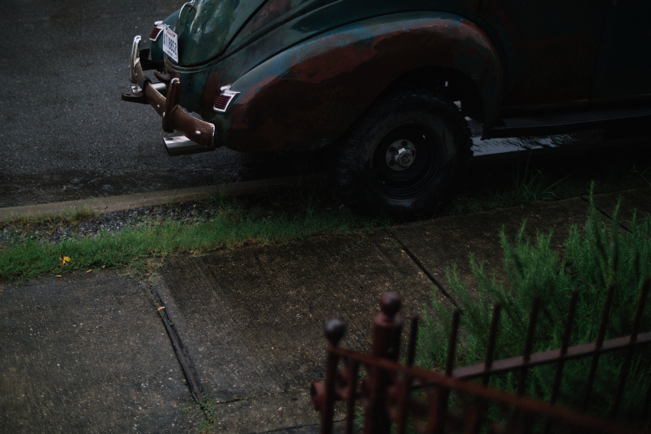 Car in New Orleans, 2017
