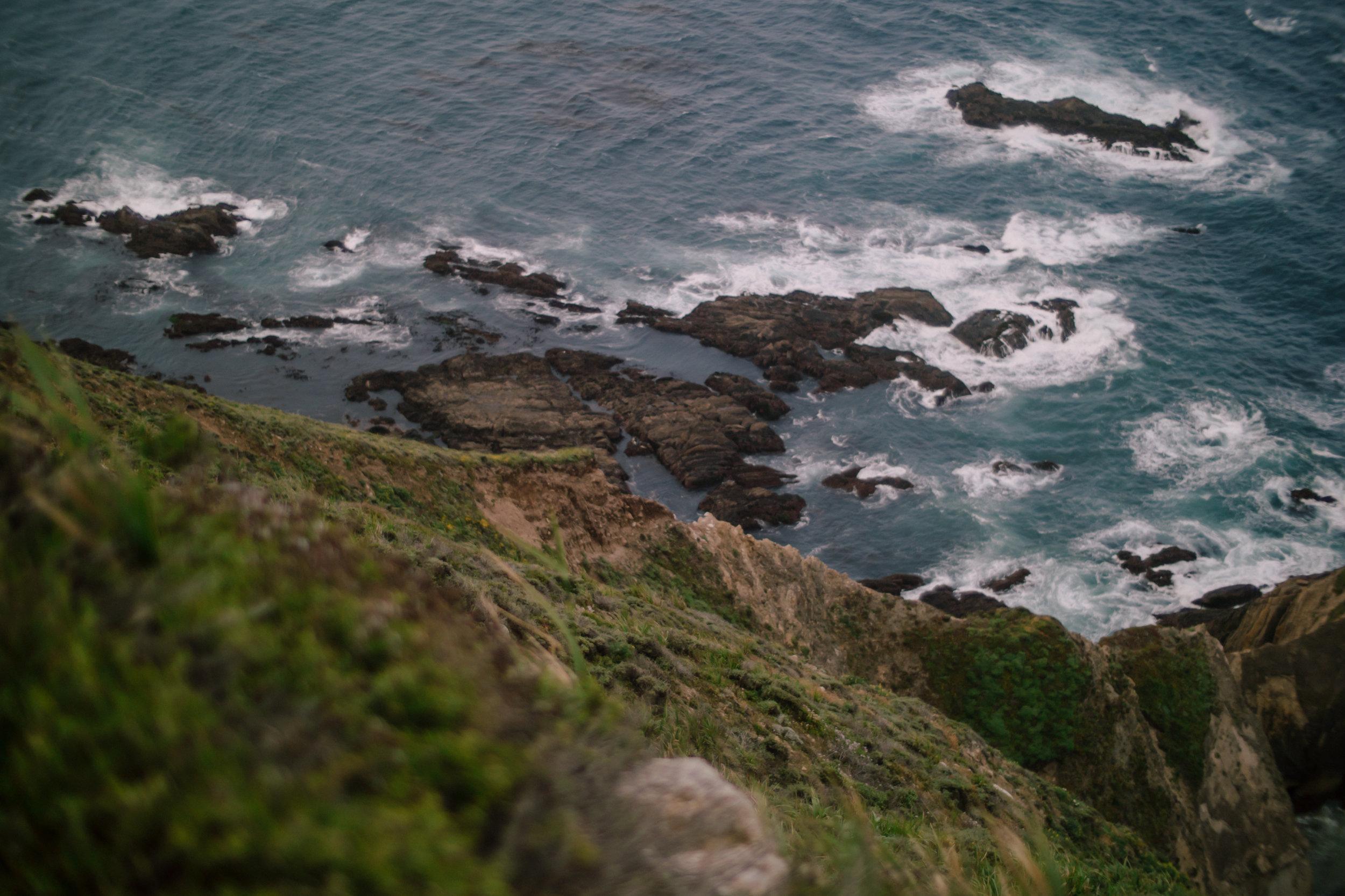 Big Sur Cliff, 2017