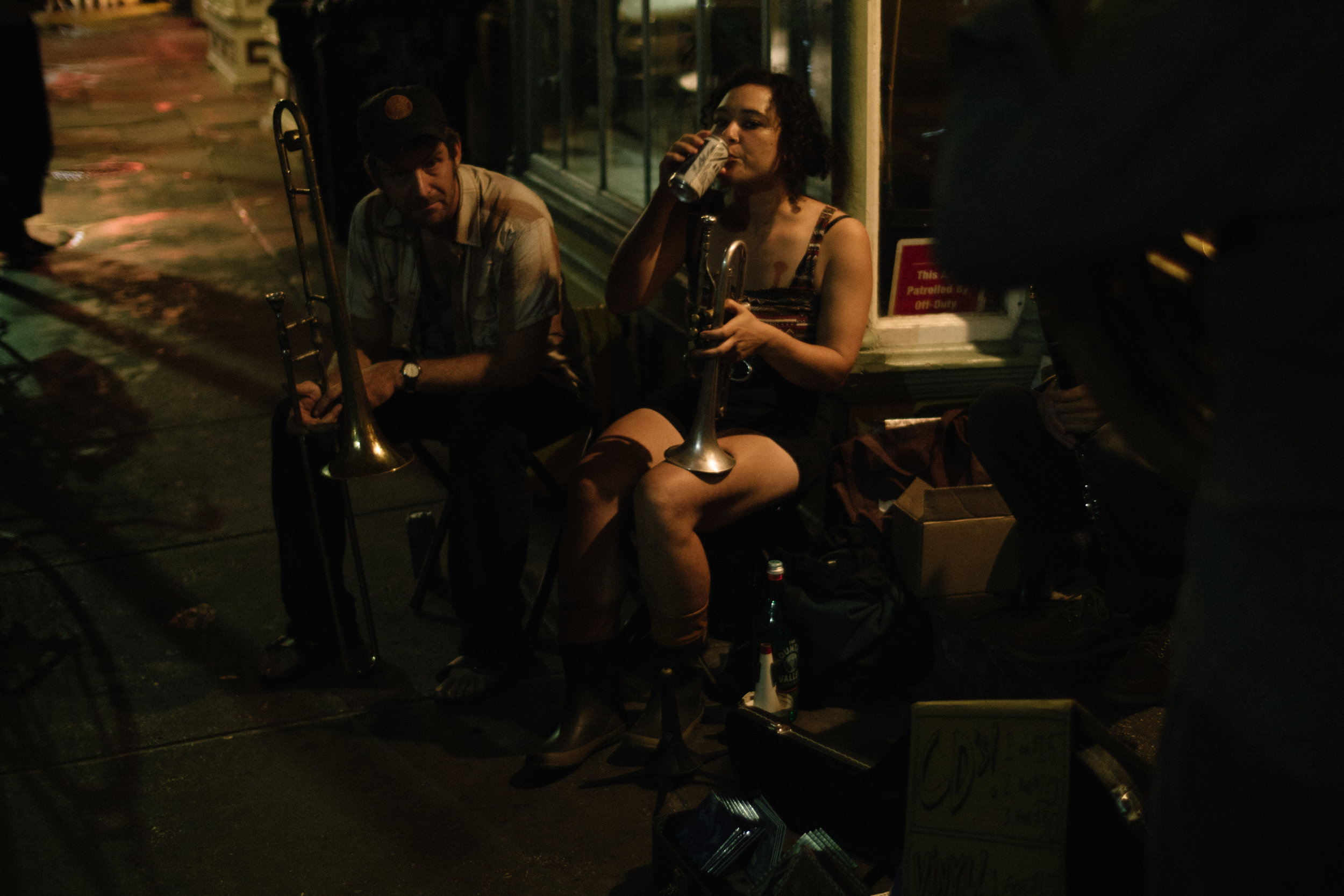 Street Band in New Orleans, 2017