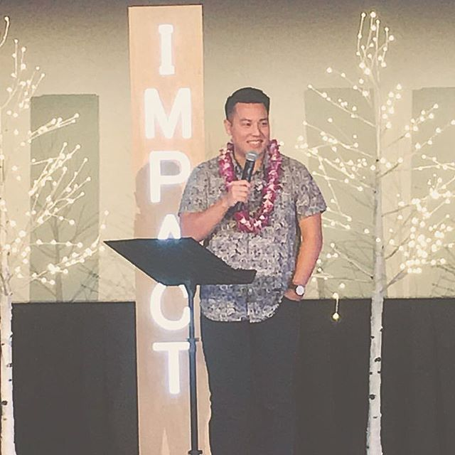 "Thank you @_dantan for sharing yesterday about how to ""leave God room"" to move in our lives. And thank you Pastor @craycrayton for blessing us with a powerful message. #movethebells . #impactkakaako"