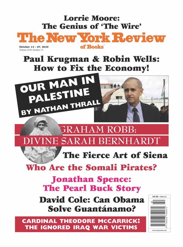 The New York Review of Books - Our Man in Palestine