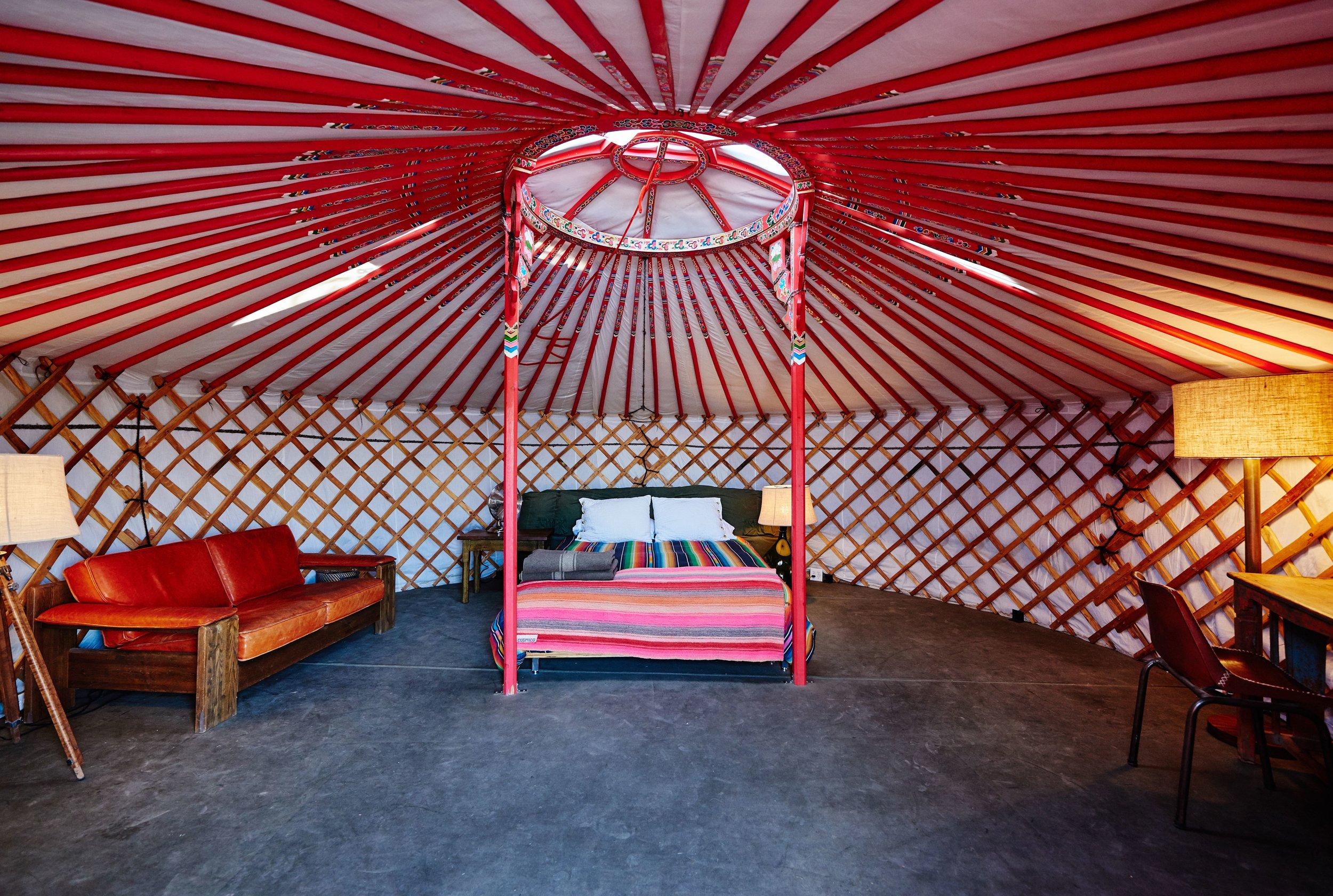 El Cosmico - Yurt Interior - Nick Simonite.jpg