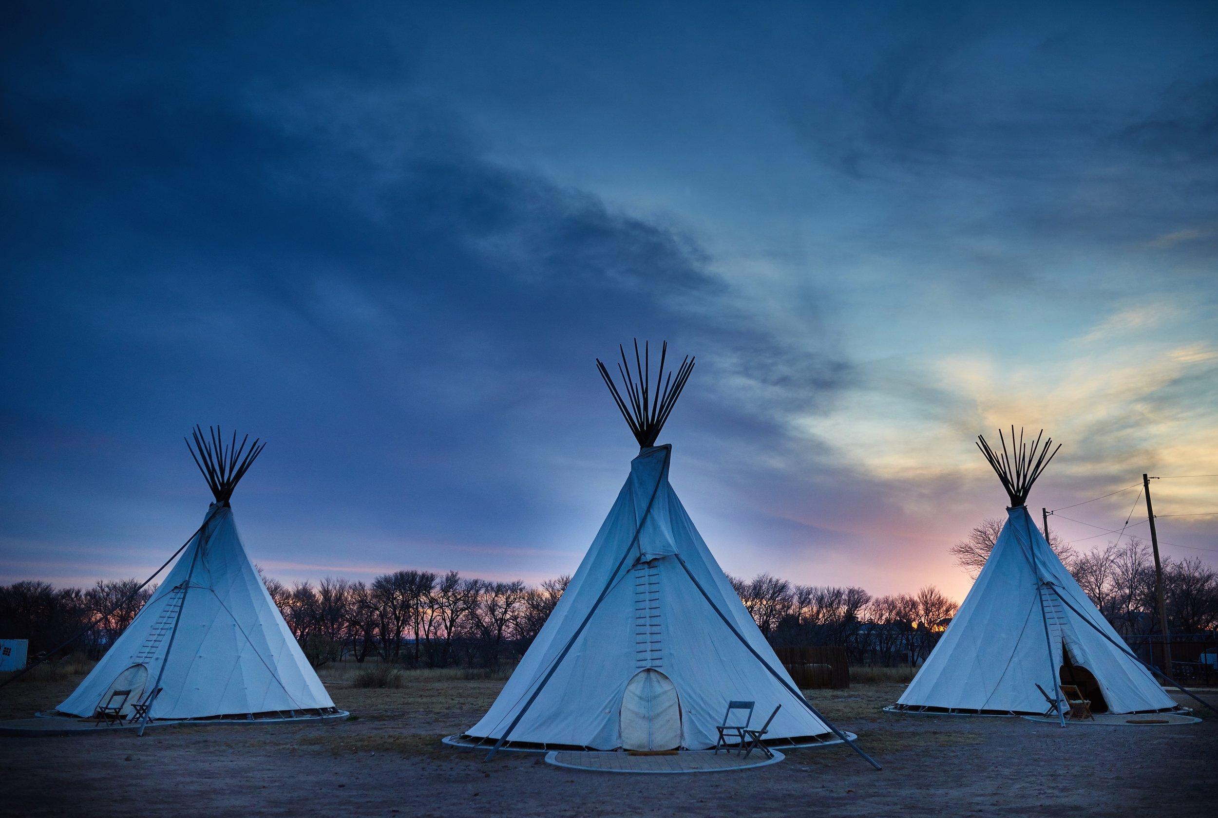 El Cosmico - Teepees Sunset - Nick Simonite.jpg