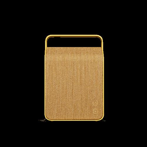 Sand Yellow Oslo Aluminium Speaker