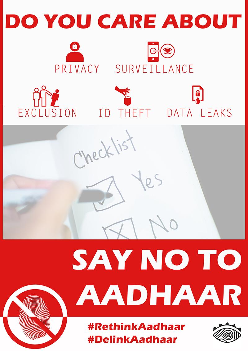 Say no to aadhaar - online.png