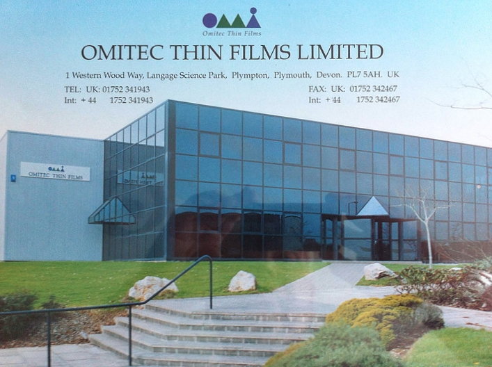 our plympton hq was first opened in 1992 as omitec thin films