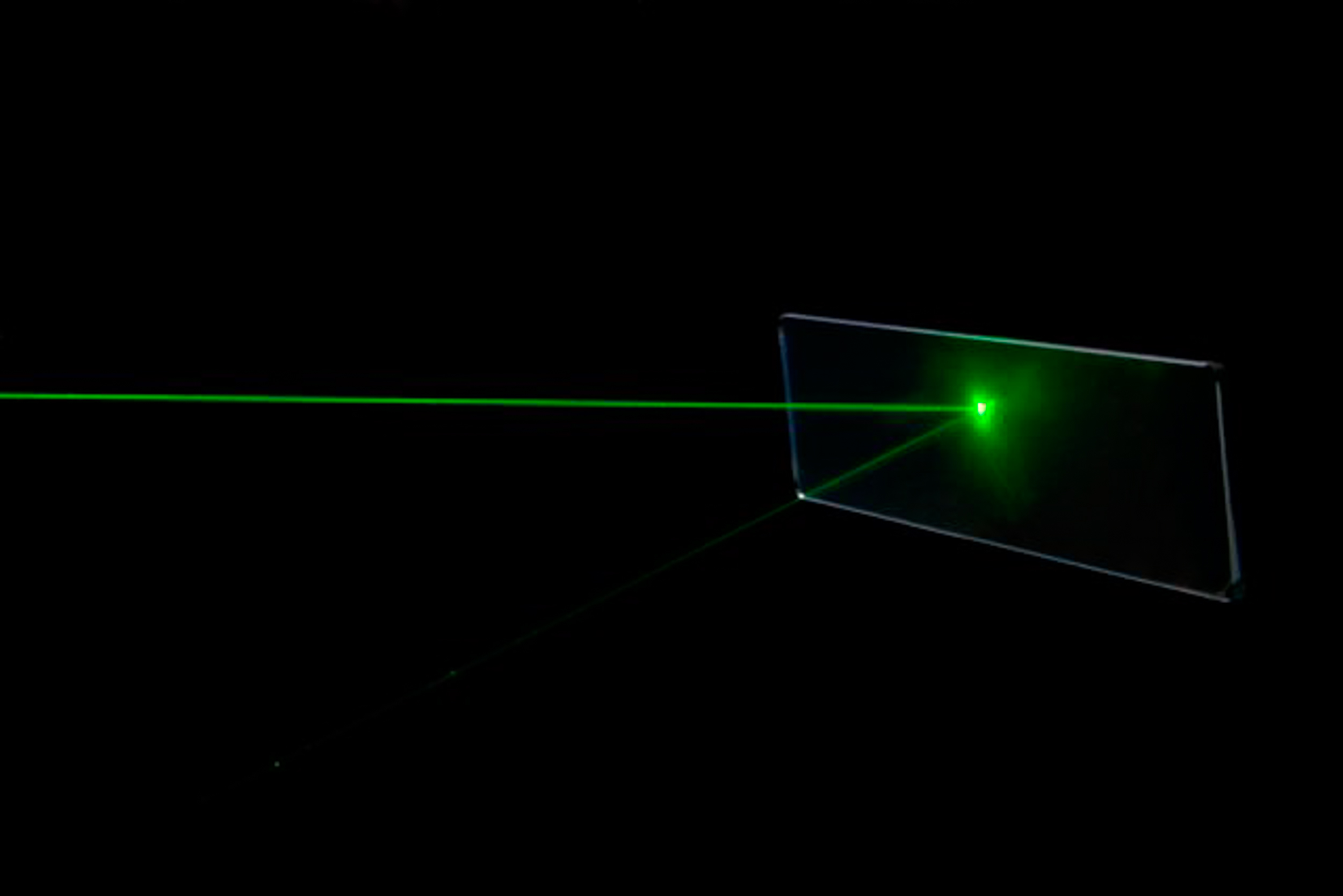 A dedicated laser test facility -