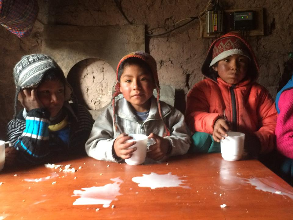 The Children of the Cancha Cancha valley
