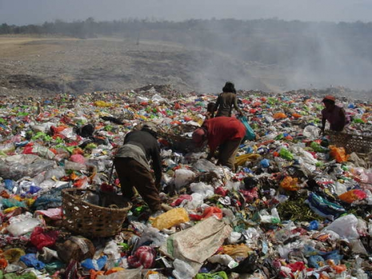 The city landfill of Cagayan De Oro, The Philippines.