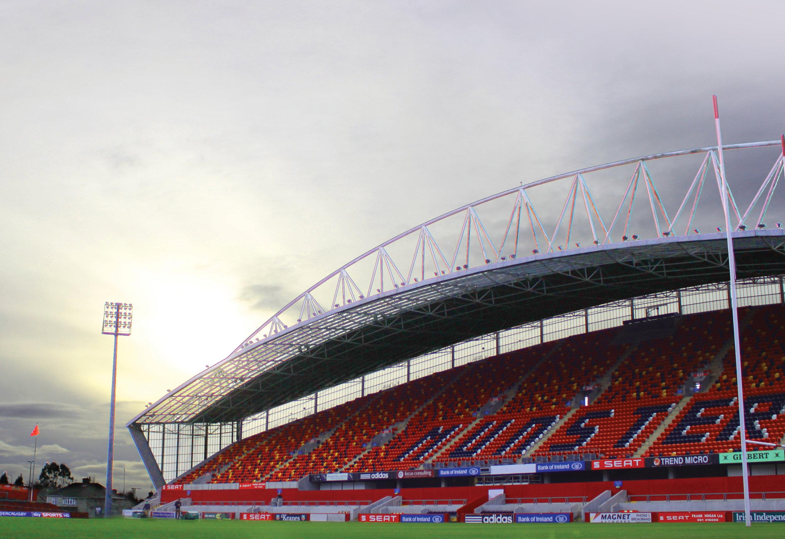 Thomond Park West Stand, Co. Limerick