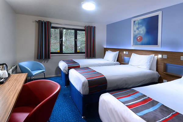 Travelodge Cork Airport Triple Room