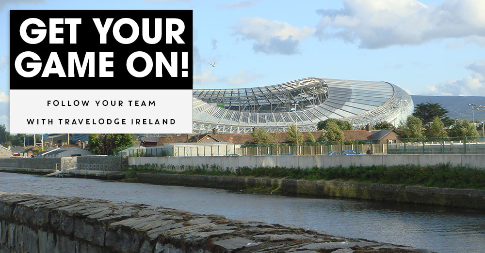 Cheer Leinster Rugby on and stay near with a Travelodge Dublin Hotel