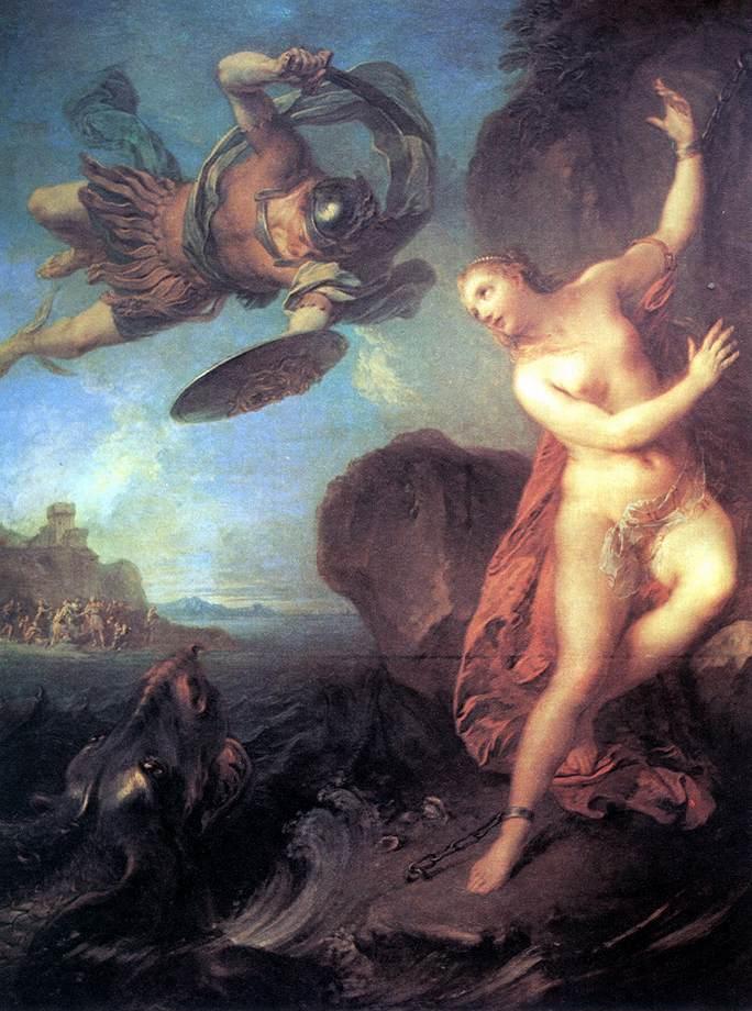 François Lemoyne, Perseus and Andromeda, 1723