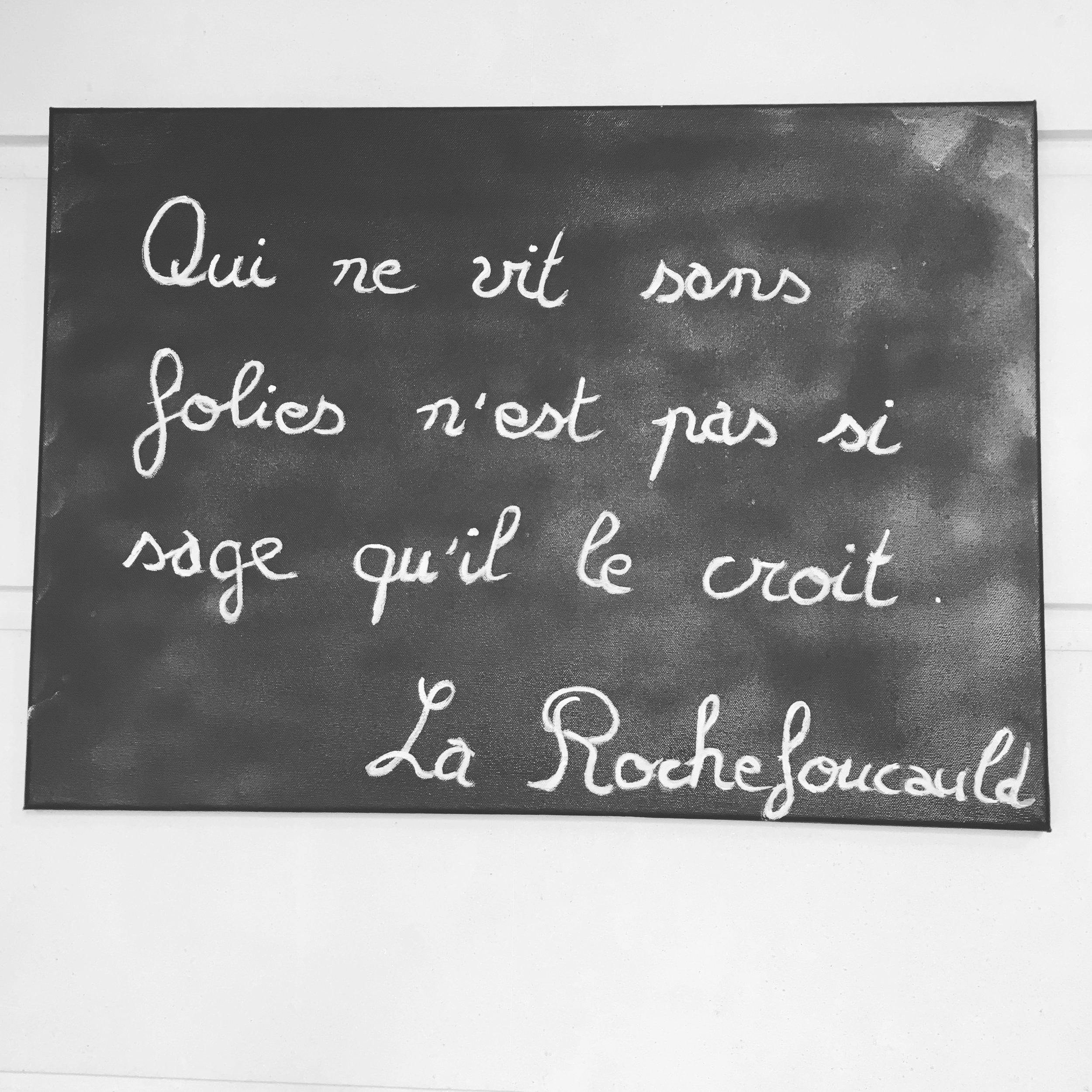 Devise des la Rochefoucauld