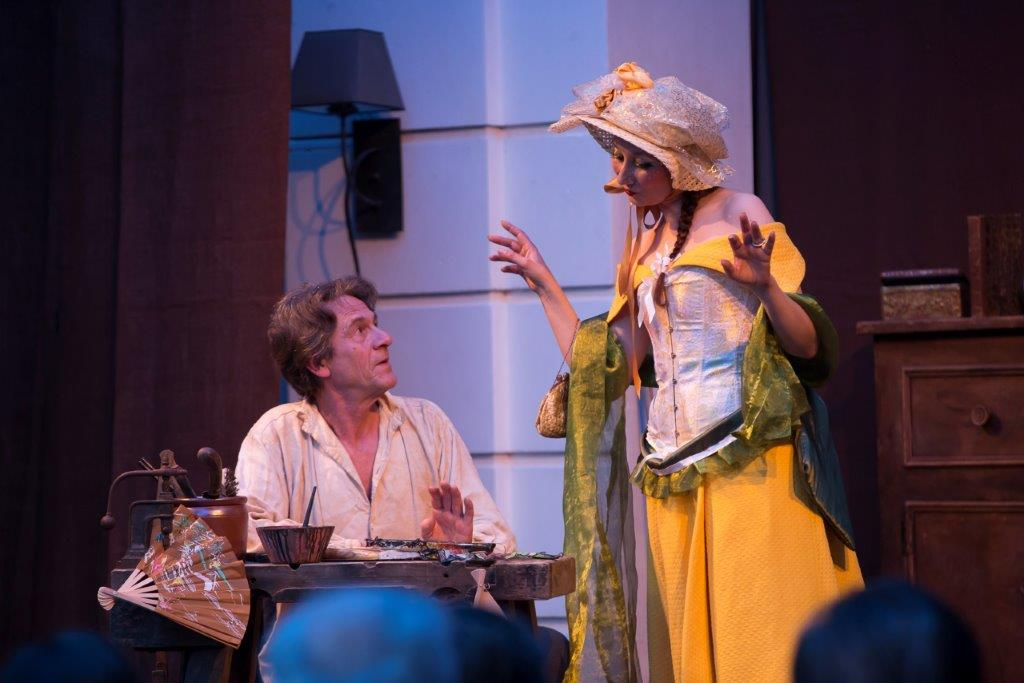 La troupe du théâtre de l'Escamoulin