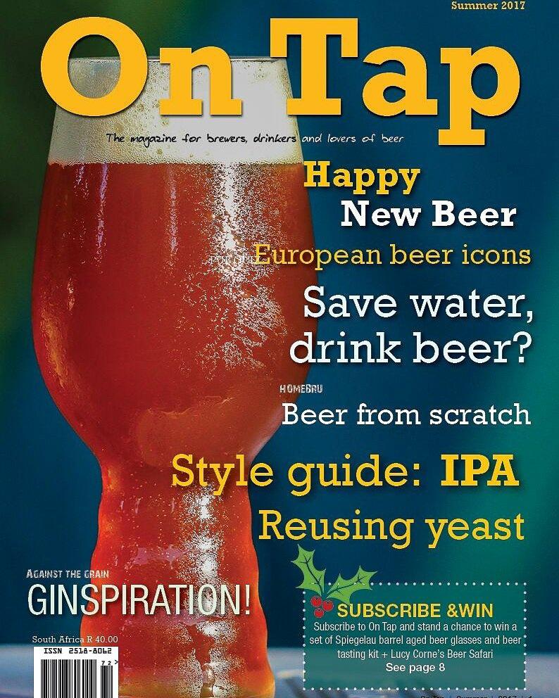 OnTap Magazine  - Summer Issue 2017-2018