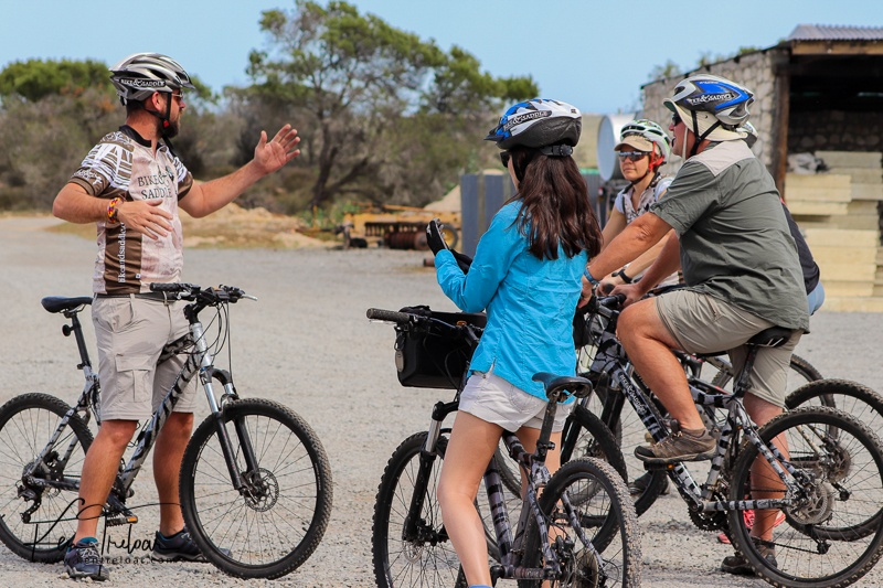 A quick group chat about cycle safety, and what we can expect to encounter out on the trail.